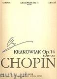Okładka: Chopin Fryderyk, Krakowiak op.14, WN20A (partytura)