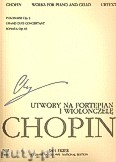 Okładka: Chopin Fryderyk, Utwory na fortepian i wiolonczelę WN23A, Vol.XVI