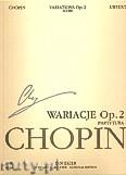 Okładka: Chopin Fryderyk, Wariacje na temat