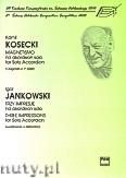 Okładka: Kosecki Kamil, Jankowski Igor, Magnetismo ... Trzy impresje na akordeon