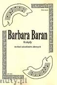 Ok�adka: Baran Barbara, Kol�dy na duet saksofon�w altowych