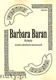Ok�adka: Baran Barbara, Kol�dy na duet saksofon�w tenorowych