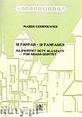 Ok�adka: Czerepin Aleksander, 12 fanfar na kwintet d�tyblaszany (tr.1, tr.2, corno in fa, puzon, tuba) (partytura+g�osy)
