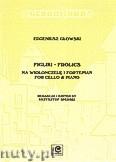 Okładka: Głowski Eugeniusz, Figliki na wiolonczelę i fortepian