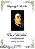 Okładka: Chopin Fryderyk, Pięć pieśni na chór mieszany a cappella