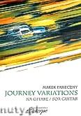 Okładka: Pasieczny Marek, Journey Variations na gitarę
