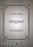 Okładka: Carulli Gustavo, Nocturne brilant op. 3 na fortepian i obój (flet lub skrzypce)