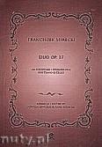 Okładka: Mirecki Franciszek, Duo op. 17 na fortepian i wiolonczelę
