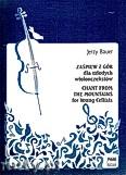 Ok�adka: Bauer Jerzy, Za�piew z g�r dla m�odych wiolonczelist�w