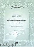 Ok�adka: Mikuli Carl, Polonez p.7 i Scherzino op.25 na troje skrzypiec (partytura i g�osy)
