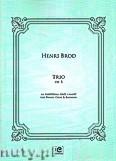 Ok�adka: Brod H., Trio op. 5 na fortepian, ob�j i fagot