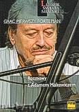 Ok�adka: Strasz Marek, Gra� pierwszy fortepian. Rozmowy z Adamem Makowiczem.