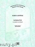 Okładka: Lipiński Karol, Impromptus na skrzypce