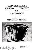 Okładka: Niemira Mieczysław, Najpiękniejsze etiudy i utwory na akordeon z. 2