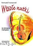 Okładka: Twardowski Romuald, Wesołe nutki