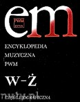 Ok�adka: , Encyklopedia muzyczna PWM t.12 - W-�