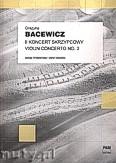 Ok�adka: Bacewicz Gra�yna, II koncert skrzypcowy