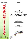 Ok�adka: Chamski ks. Hieronim, Pie�ni ch�ralne zeszyt 6
