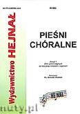 Okładka: Chamski ks. Hieronim, Pieśni chóralne zeszyt 7