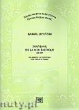 Okładka: Lipiński Karol, Souvenir de la Mer Baltique op.19