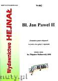 Okładka: , Błogosławiony Jan Paweł II