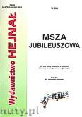 Okładka: Chamski ks. Hieronim, Msza Jubileuszowa