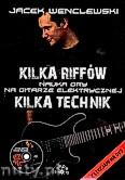 Okładka: Wenclewski Jacek,  Nauka gry na gitarze elektrycznej. Kilka riffów. Kilka Technik.