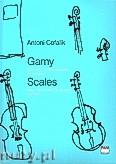 Okładka: Cofalik Antoni, Gamy dwu-,trzy- i czterooktawowe na skrzypce