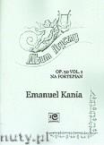 Okładka: Kania Emanuel, Album liryczny op.50 vol.1na fortepian