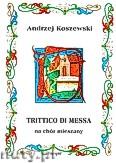 Ok�adka: Koszewski Andrzej, Trittico de messa