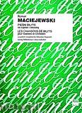 Ok�adka: Maciejewski Roman, Pie�� Bilitis na sopran i orkiestr� (wyci�g fortepianowy)