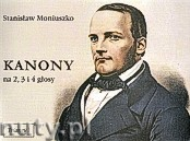 Ok�adka: Moniuszko Stanis�aw, Kanony na 2,3 i 4 g�osy