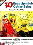 Ok�adka: Phillips Mark, 30 Easy Spanish Guitar Solos