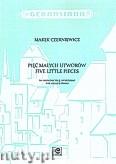 Ok�adka: Czerniewicz Marek, Pi�� ma�ych utwor�w na wiolonczel� i fortepian
