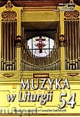 Okładka: , Muzyka w Liturgii nr 54