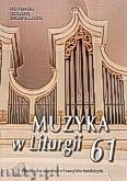 Okładka: , Muzyka w Liturgii nr 61
