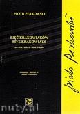 Okładka: Perkowski Piotr, Pięć krakowiaków na fortepian