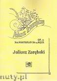 Okładka: Zarębski Juliusz, Polonez triumfalny op.11 na fortepian na 4 ręce