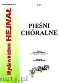 Okładka: , Pieśni chóralne zeszyt 12