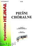 Okładka: Chamski ks. Hieronim, Pieśni chóralne zeszyt 11. Zbiór pieśni religijnych na dwa głosy mieszane z organami