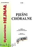 Okładka: , Pieśni chóralne z. 9