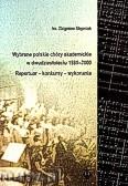 Ok�adka: ks.St�pniak Zbigniew, Wybrane polskie ch�ry akademickie w dwudziestoleciu 1980-2000. Repertuar-konkursy-wykonania
