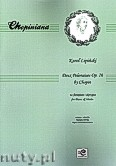 Ok�adka: Chopin Fryderyk, Dwa Polonezy op. 26 na fortepian i skrzypce