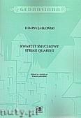 Okładka: Jabłoński Henryk Hubertus, Kwartet smyczkowy