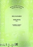 Ok�adka: M�ynarski Emil,  Trios Pieces op. 6 na skrzypce i fortepian