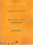 Okładka: Walentynowicz Władysław, Prolog - Dialog - Epilog na obój i harfę lub fortepian