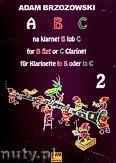 Okładka: Brzozowski Adam, ABC na klarnet B lub C zeszyt 2