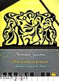 Ok�adka: G�sieniec Miros�aw, Zbi�r ta�c�w na fortepian