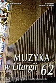 Ok�adka: , Muzyka w Liturgii nr 62