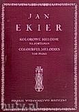 Okładka: Ekier Jan, Kolorowe melodie na fortepian